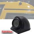 SONY CCD 700TVL вид Сбоку камеры автомобиля, 12 В, для грузовиков и автобусов, металлический корпус