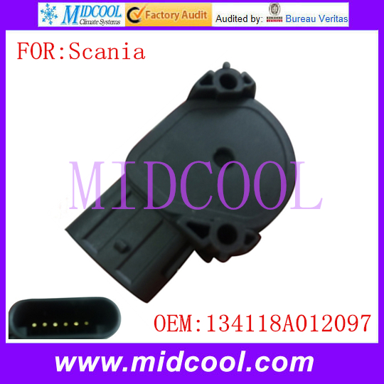 New Throttle Position Sensor TPS use OE No. 134118A012097 for Scania Truck oes     - title=