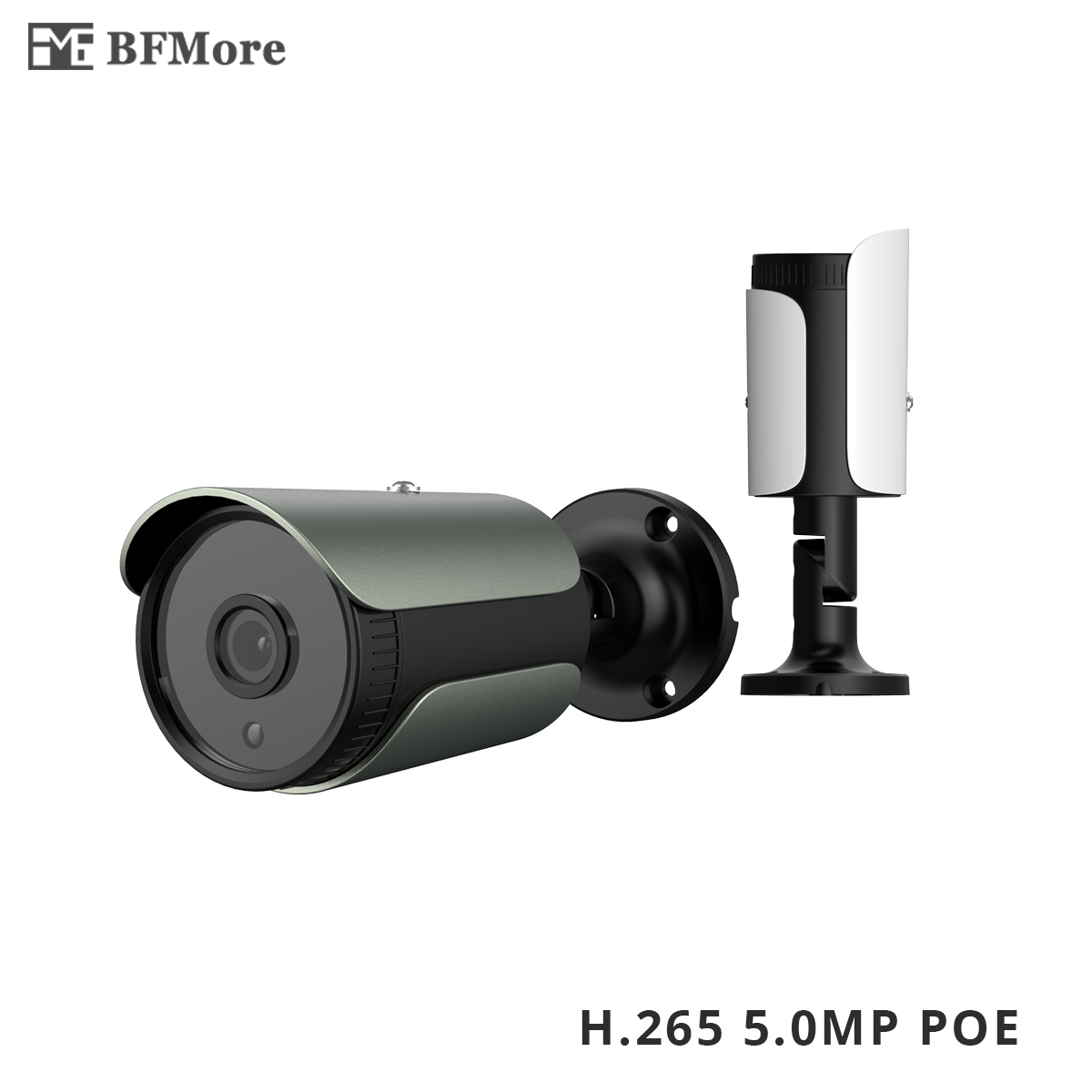 BFMore H 265 48V POE 5 0MP 4 0MP IP Camera Low Stream UHD CCTV Cam