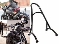 Motorcycle Black Short Passenger Sissy Bar Backrest For Harley Sportster XL Nightster 883 1200 2004 2016