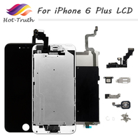 Complete AAA++ For iPhone A1522 A1524 A1593 Screen For iPhone 6 Plus LCD Display Touch Screen Digitizer Assembly 5.5 inches