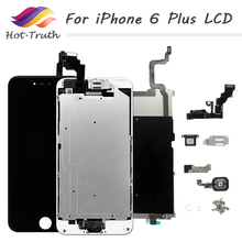 Complete AAA++ For iPhone A1522 A1524 A1593 Screen For iPhone 6 Plus LCD Display Touch Screen Digitizer Assembly 5.5 inches цена