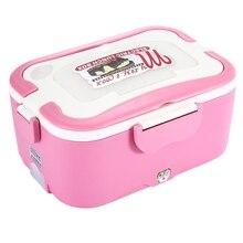 Original 1.5L Elektrischer Lebensmittel Heizung Lunchbox 304 Lebensmittelqualität Edelstahlbehälter Kostwärmer Mahlzeit Heizung 220 V 45 Watt In hause
