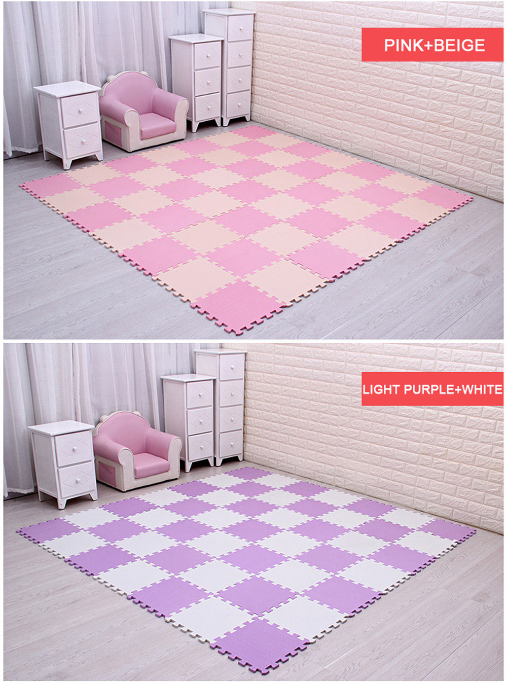Newest 9/18pcs/set EVA Children's Foam Carpet Mosaic floor Puzzle Carpet Baby Play Mat Floor Developing Crawling Rugs Puzzle Mat