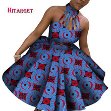 New Arrival Top and Straight Skirt Sets African Wax Print 2 Pieces Set for Women Bazin Riche Style Clothing WY3838