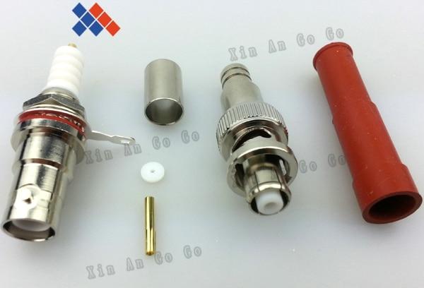 New BNC pair high voltage power RF connector SHV 5000V RG59 62 Free shipping bnc м клемма каркам