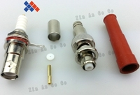 New BNC Pair High Voltage Power RF Connector SHV 5000V RG59 62 Free Shipping