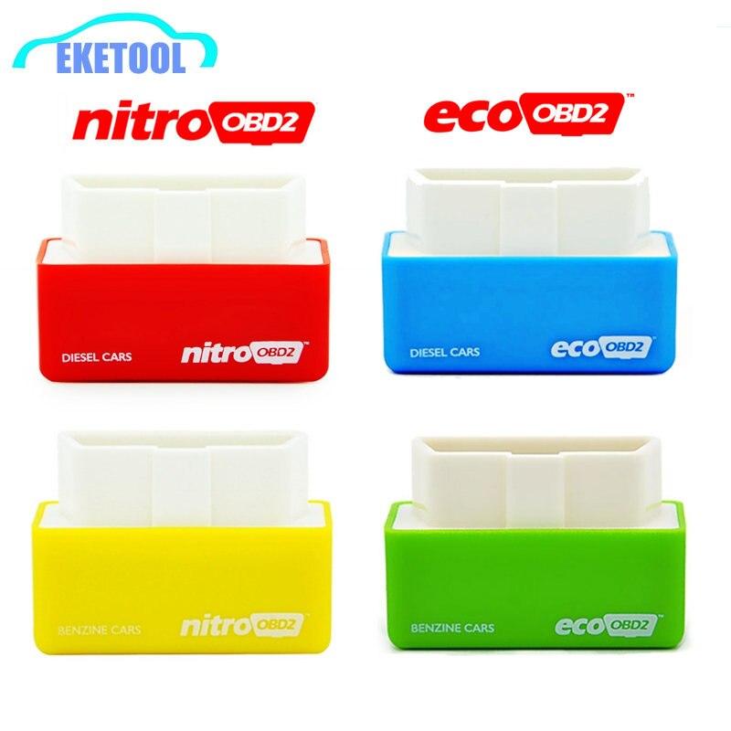 New Your Own Driver! Car Chip Tuning Performance Box NitroOBD2 EcoOBD2 Plug&Driver OBD2 Interface NITRO OBD2 ECO OBD2