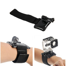 New Arrival Diving Housing Adjustable Case camera hand Wrist Strap Band Mount for Gopro Hero 4 3+ 3 2 1 pj 002 protective silicone case wrist band for gopro hero 3 3 wi fi remote controller white
