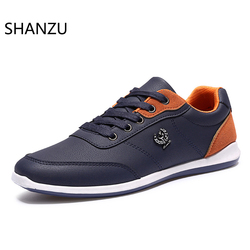 Men's Shoes Spring Autumn Casual Leather Breathable Sneakers Walking Shoes Fashion Footwear Driving 649