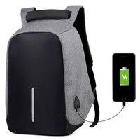 2017Anti Theft 15 6 Inch Waterproof Laptop Bag Fashion Mochila Security Travel Backpack Men Women Multi