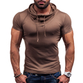 New Fashion Brand Short Sleeve Slim Fit T Shirt Men Cotton T-Shirt Spring Casual Tee Tops Men Clothes