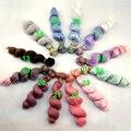 1 шт 15 СМ х 100 см розовый серый фиолетовый зеленый синий цвет высокая температура толщиной кукла парик волос для 1/3 1/4 1/6 BJD SD кукла diy волос