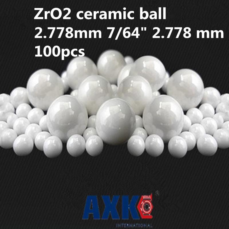 Rolamentos Free Shipping 100pcs 2.778mm 7/64 2.778 Mm Zro2 Ceramic Balls Zirconia Used In Bearing/pump/linear Slider/valvs G5Rolamentos Free Shipping 100pcs 2.778mm 7/64 2.778 Mm Zro2 Ceramic Balls Zirconia Used In Bearing/pump/linear Slider/valvs G5