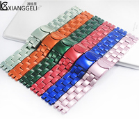 Watch accessories For Swatch 19mm latest stainless steel watch band for all types of high end men's and women's brand watches