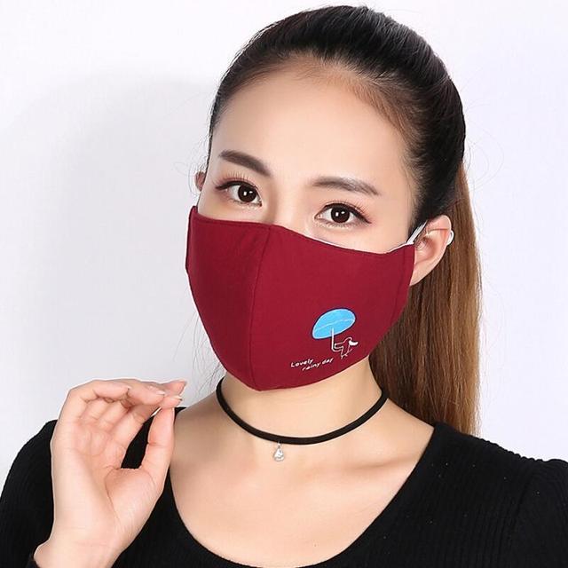 Männer Frauen Warm Halten Mund Maske Bakterien Beweis Maske Anti