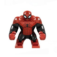 Super Heroes Avengers Marvel: Infinity War Hulk Thanos Gloves Spider Man Building Blocks toy