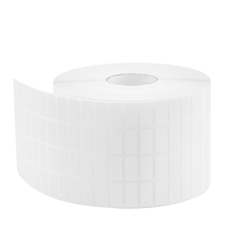 HOT-4 Row White Self Adhesive Sticky Label Writable Name Stickers Blank Note Label Bar Code For Thermal Printer 20mmx10mmx3000