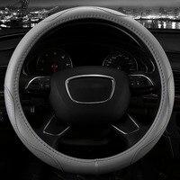 Prawdziwej Skóry kierownicy samochodu pokrywa pięciu kolorach dla Infiniti FX35 G25 G2 JX35 M25L QX50L M25 QX56 Q70L wnętrze akcesoria
