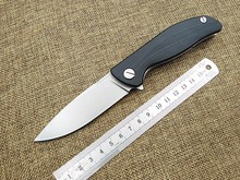 Hot tactical folding knife mini F3 camping hunting survival pocket knives outdoor rescue hand tools 9cr18mov blade G10 handle