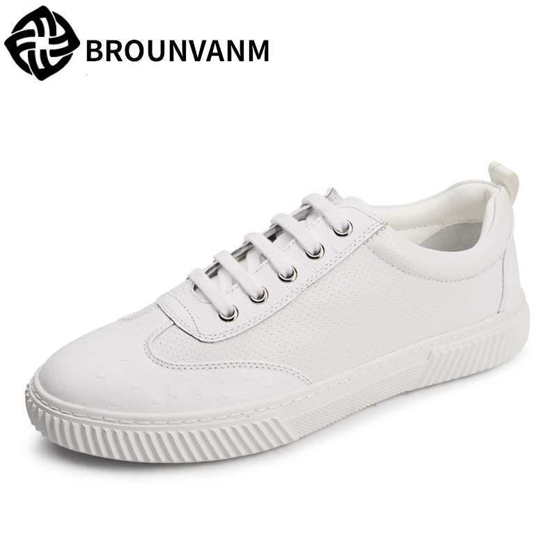 Free shipping In the autumn of 2017 new Korean daily leisure sports shoes for men head shoe shoes breathable low tide in autumn the new style of the leather face of the thick bottom of the shoe fashion of many colors