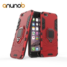 Phone Cases For Apple iPhone X XR XS Max 8 7 Plus 6 6S PLUS 55S Case Iron Man Style Bags Finger Ring Plain Back Cover inonler зеленый iphone 55s