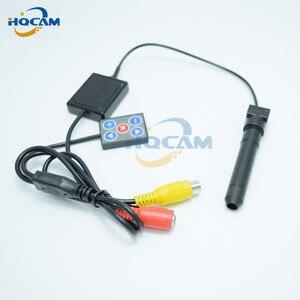 HQCAM 700tvl Nextchip 2090 + 810 \ 811 мини 1/3 ''SONY цветная CCD камера с отдельной видеокамера Объектив 70 мм 4,5 градусов