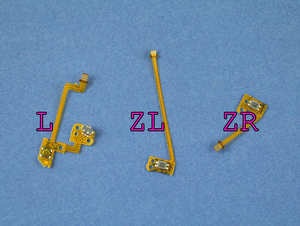 Image 2 - 1 세트 원래 교체 L ZL ZR 버튼 키 리본 플렉스 케이블 닌텐도 NS 스위치 조이 콘 컨트롤러 버튼 케이블
