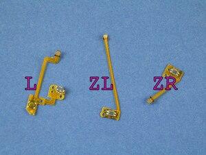 Image 2 - 1 zestaw oryginalny zamiennik L ZL ZR przycisk wstążka Flex kabel do konsoli Nintendo przełącznik NS Joy Con kontroler przyciski kabel
