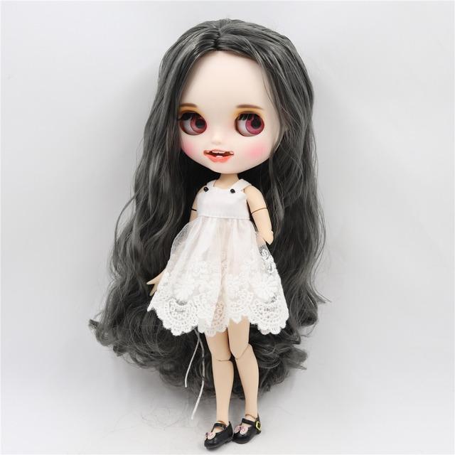 Madeline - Premium Custom Blythe lutka s odjećom Nasmiješeno lice