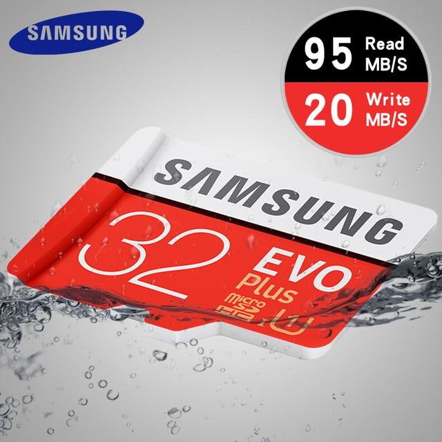 235k - Thẻ nhớ micro SD Samsung EVO Plus 32Gb - Read 95Mb/s Write 20Mb/s giá sỉ và lẻ rẻ nhất