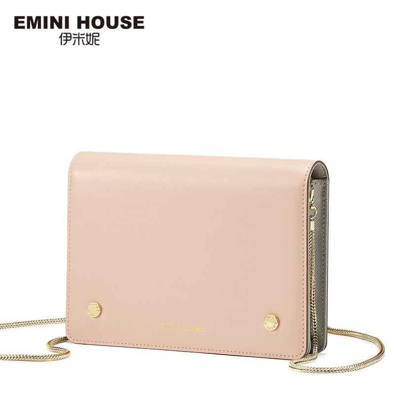 EMINI HOUSE Fashion Chain Bag Crossbody Bags For Women Messenger Bags Mini Summer Clutch 2017 Famous Brand Women Shoulder Bag 2017 fashion all match retro split leather women bag top grade small shoulder bags multilayer mini chain women messenger bags