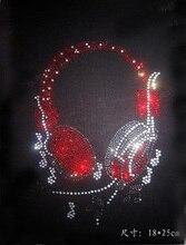The new headset hot fix rhinestones iron on crystal transfers design stone