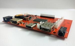 Image 5 - 10 אינץ פטל Pi LCD תצוגת 1280*800 ברזולוציה גבוהה צג מרחוק שלט נהג 2AV HDMI USB סוג C