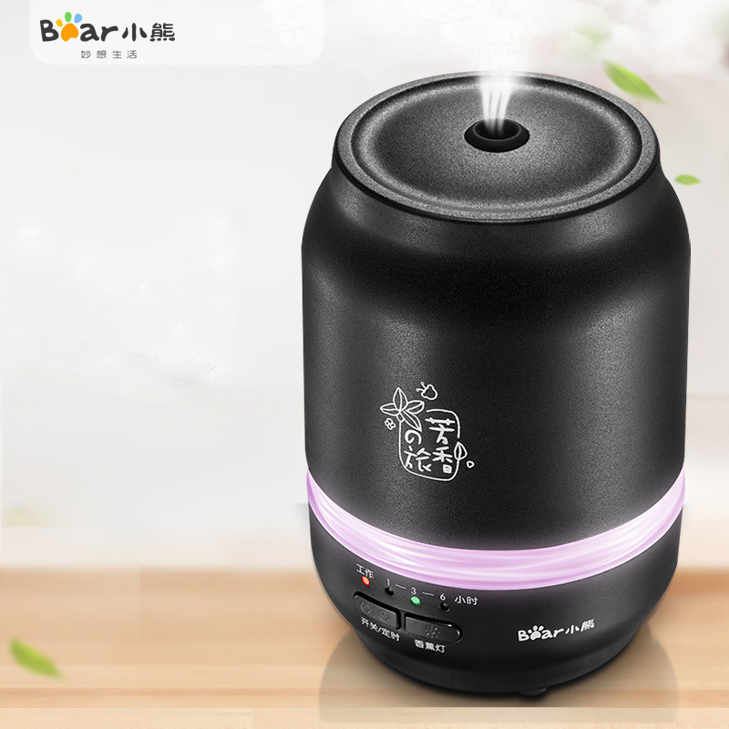 Bear JSQ-D02A1 Aroma Machine Sprayer Home Bedroom Mute Plug In Oil Lamp Humidifier Colorful Atmosphere Lights ароматизатор aroma wind 002 a