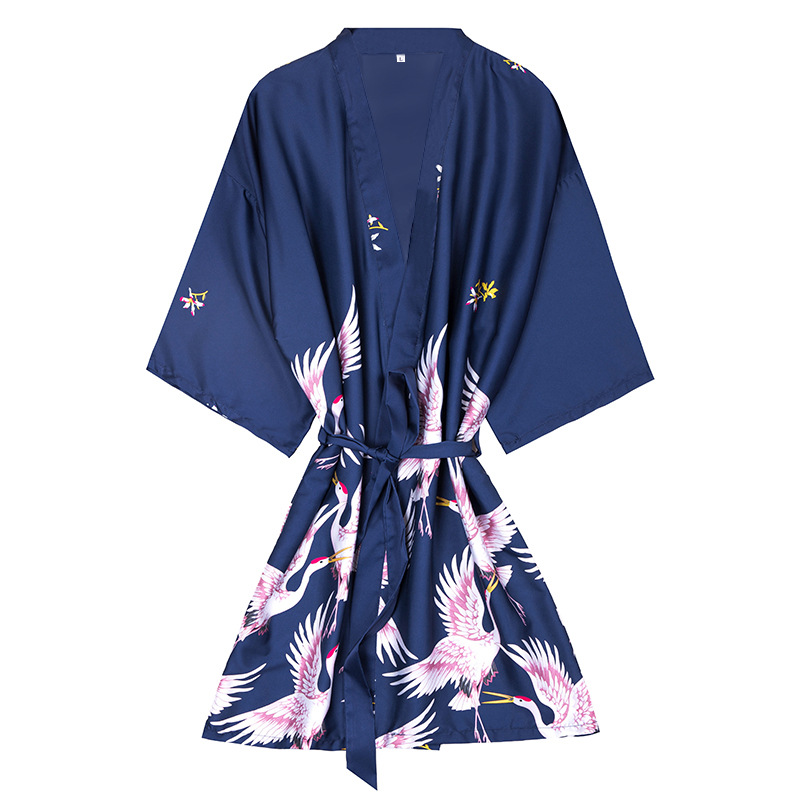 Pajamas Nightgown Simulation-Silk Half-Sleeves Female Sexy Large-Size Women Summer New