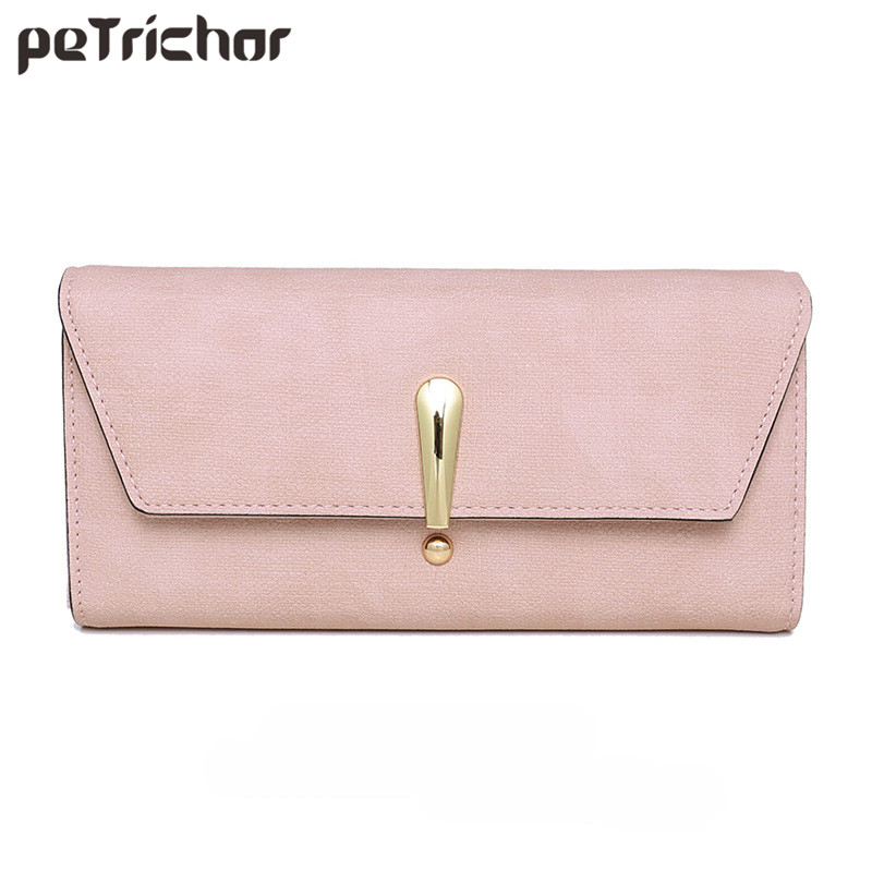 Fashion Leather Lady Party Clutch Wallet Long Woman Wallets Designers Purse Female Card Holder Solid Elegant Female Women Purses 2017 new women wallets cute cartoon bear lady purse pu leather clutch wallet card holder fashion handbags drop shipping j442