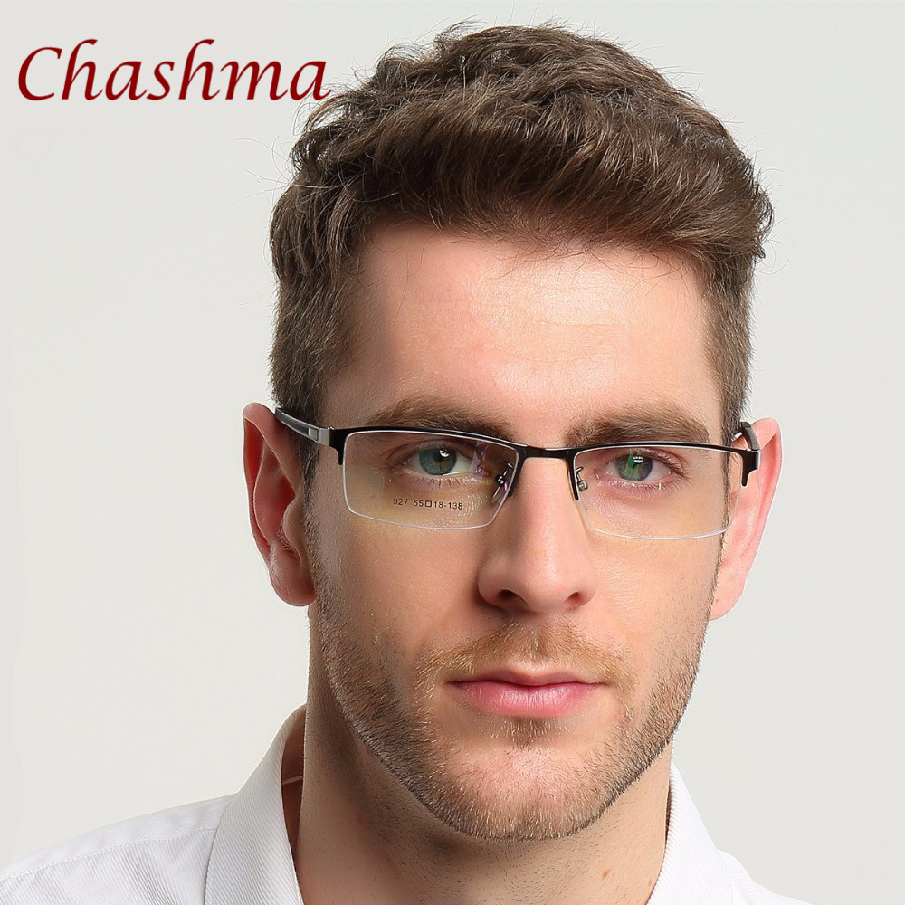 Syzet e markës Chashma Gentlemen Syzet e Meshës Blu Gjysma Rimmed - Aksesorë veshjesh - Foto 3