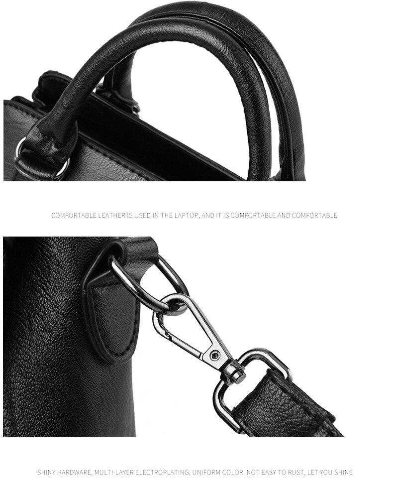 Women Bag 2019 New Women Messenger Bags Fashion Pu Leather Shoulder Bags Handbags Famous Brands, Big Crossbody Bags For Women 27