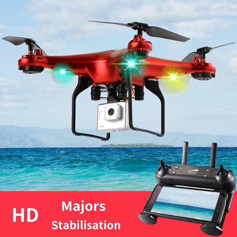 DM006 Шестиопорный фиксированный четырехосный самолёт RC Drone 6-осевой пульт дистанционного управления Вертолет Quadcopter с 2-мегапиксельной HD-каме...