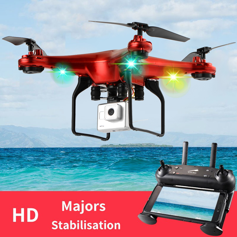 DM006 Six-axe Fixe Quatre-axe Avions drone rc 6-Axe télécommande Hélicoptère quadrirotor avec 2MP HD CAMÉRA ou X5 R
