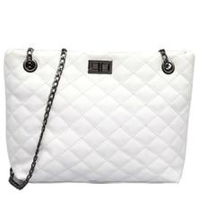 Big handbag female 2019 summer new design fashion version Messenger bag cross shoulder chain women white fairy