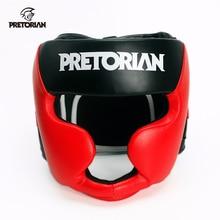 Бренд PRETORIAN боксерский головной убор Муай Тай кикбоксинг головные уборы для мужчин и женщин тренировочный спарринг ТКД фитнес Грант ММА боксерский шлем