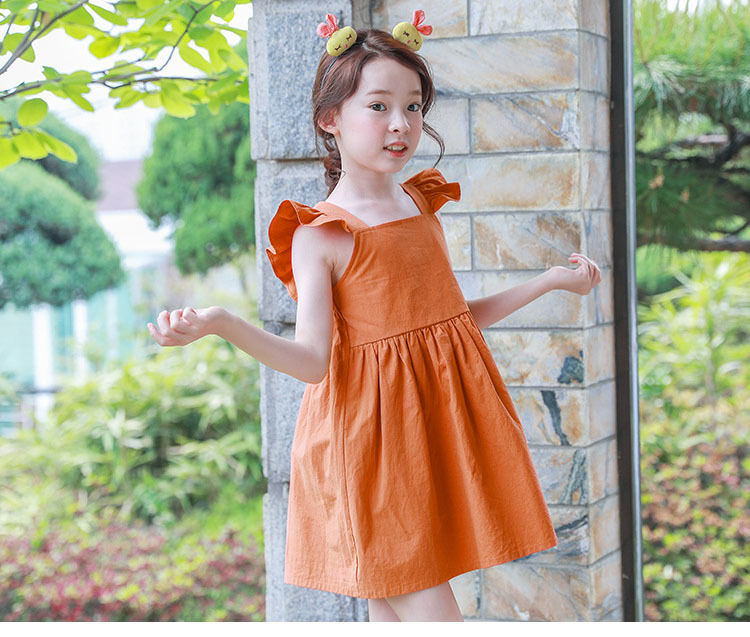 Backless 2019 Summer Bohemian Style Girls Dress Sundress For Girls Flare Sleeve Beach Dress Kids Clothes 5 6 7 8 9 10 11 14 T.jpg