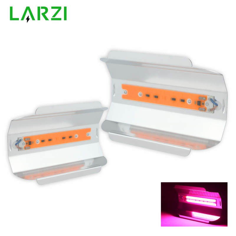 LED Grow Light 30W 50W 80W Flood Light AC 110V 220V Full Spectrum Indoor Plant Light Greenhouse Cob Led Grow Light