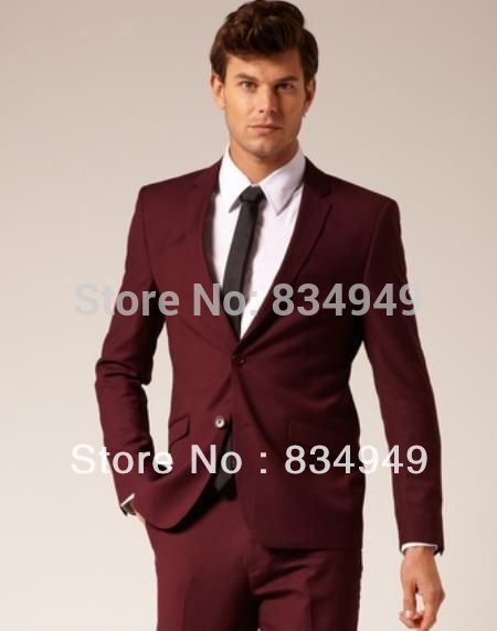 Maroon Suit Men Promotion-Shop for Promotional Maroon Suit Men on ...