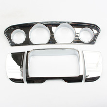 Motorcycle Chrome Deluxe Tri Line Stereo Trim Cover for Harley Touring Electra Glide FLHX CVO Special FLHXS 2014 2015 2016 2017 motorcycle front fender trim skirt for harley touring electra glide ultra classic low 2014 2015 2016 aluminum