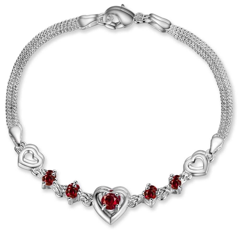 wholesale High quality  silver Fashion jewelry Bangles bracelet  WB-348