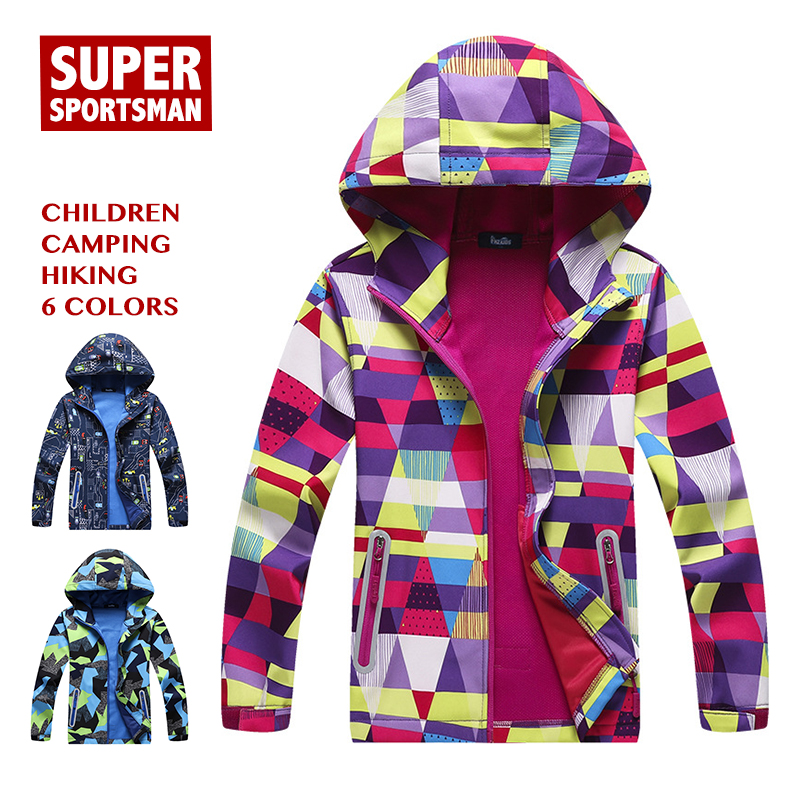 d7defc716c Chaqueta impermeable para niños, niñas, invierno, Polar, Softshell, niños,  deportes al aire libre, niños, senderismo, esquí, pesca, cortavientos