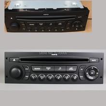 YENI RD45 araba radyo cd çalar destekler Bluetooth AUX USB MP3 Citroen C3 C4 C5 için Peugeot 207 206 307 308 807